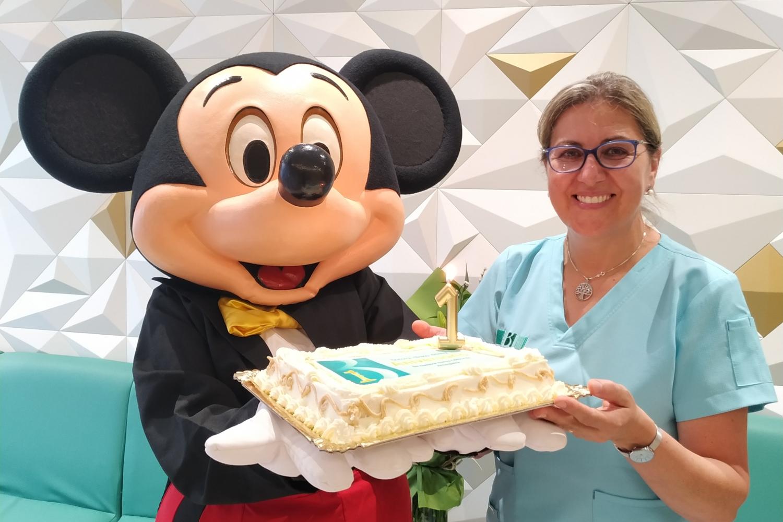 Mickey primer aniversario instalaciones Bucoral Antequera